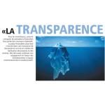La transparence est un avantage décisif